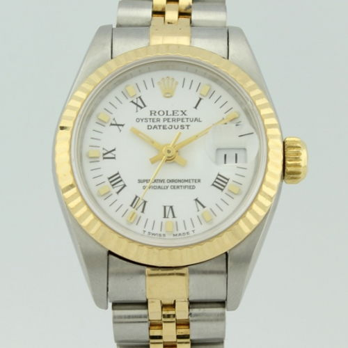 foto ufficiali b03e4 eaf6c Rolex Oyster Perpetual Datejust Automatic Gold and Steel 69173